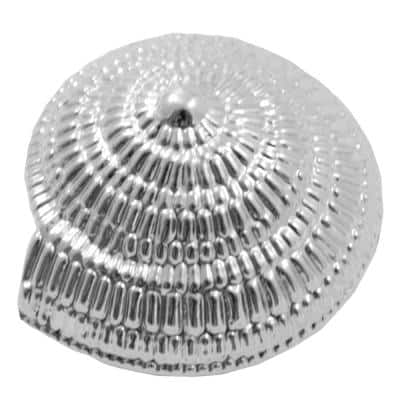 Oceana 1-1/2 in. Polished Chrome Swirl Cabinet Knob