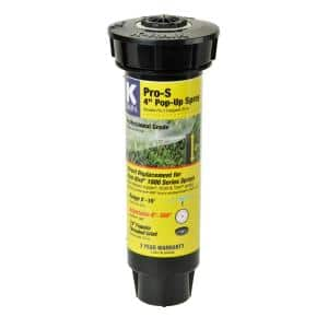 Pro S 4 in. Spray with 15 ft. Adjustable Nozzle