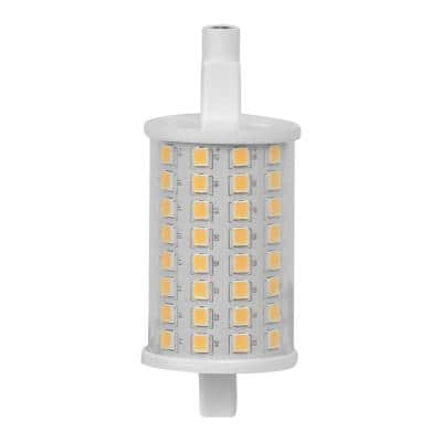 100-Watt Equivalent R7S 78MM R7 Base LED Light Bulb, Bright White