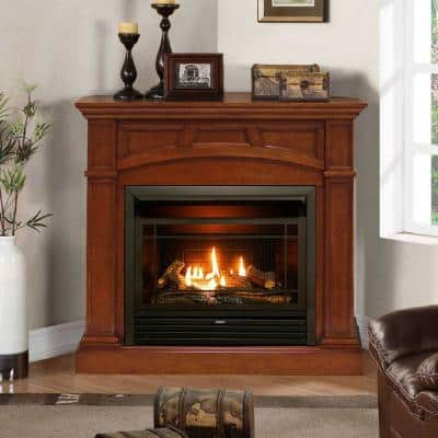 Ventless Gas Fireplaces, Corner Natural Gas Fireplaces Ventless