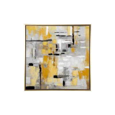 Contemporary Abstract Painting Framed Canvas Wall Art