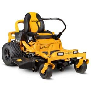 Ultima ZT1 50 in. Fabricated Deck 23HP V-Twin Kawasaki FR Series Engine Dual Hydro Drive Gas Zero Turn Riding Lawn Mower