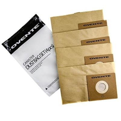 Premium Disposable Compact Dust Bag Replacement for ST1600 Series Canister Vacuum (4-Pack)