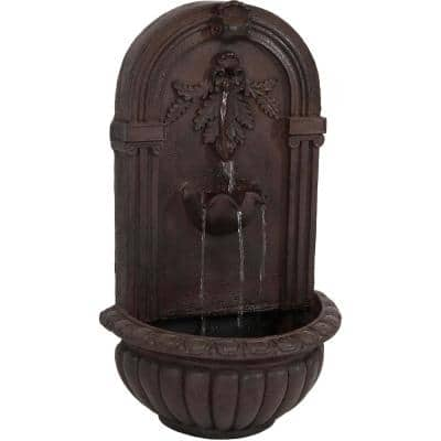 Florence Iron Electric Powered Wall Fountain