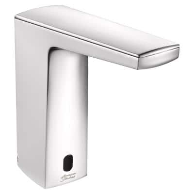 Paradigm Selectronic Base Model AC Powered Single Hole Touchless Bathroom Faucet with 0.5 GPM in Polished Chrome