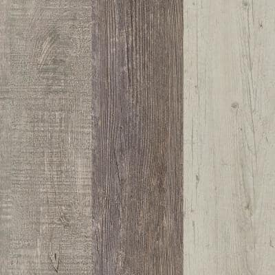 5 in. W x Multi-Length Cottage Blend Peel and Stick Vinyl Wall Plank (20 sq. ft./case)