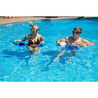 Blue Luxury Water Hammock for Swimming Pools - NBR Foam Rubber Flotation Device