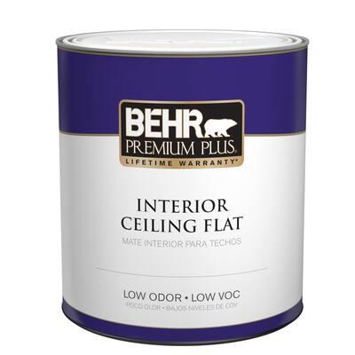 1 qt. Ultra Pure White Ceiling Flat Interior Paint