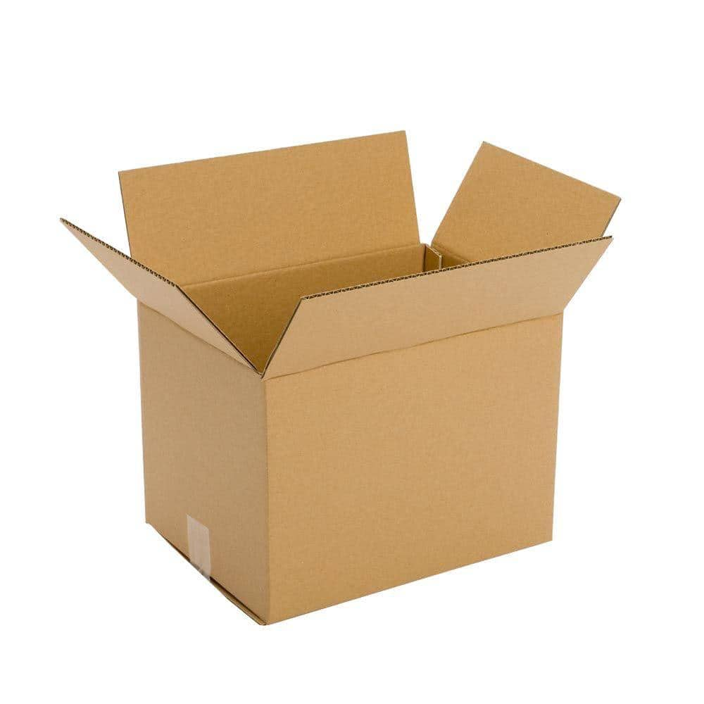 25-14x10x10 Cardboard Shipping Boxes Corrugated Cartons