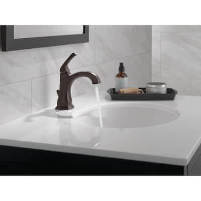 Portwood Single Hole Single-Handle Bathroom Faucet in Venetian Bronze