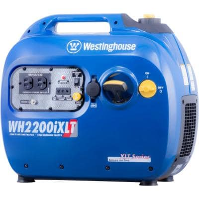 WH2200 2,200/1,800-Watt Gas Powered Portable Inverter Generator with Parallel Capabilities and Enhanced Fuel Efficiency