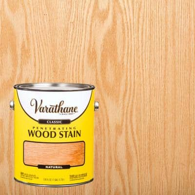 1 gal. Natural 250 VOC Classic Wood Interior Stain (2-Pack)