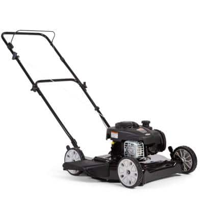 20 in. 125 cc Briggs & Stratton Gas Walk Behind Push Mower
