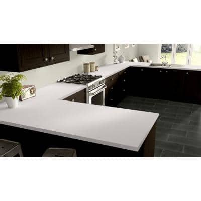 2 ft. x 4 ft. Laminate Sheet in RE-COVER Frosty White with Matte Finish