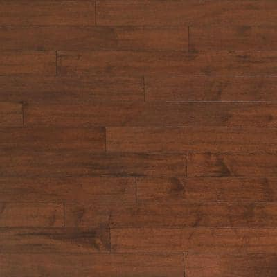 Scraped Maple Rodeo 3/4 in. Thick x 5 in. Wide x Random Length Solid Hardwood Flooring (23 sq. ft. / case)