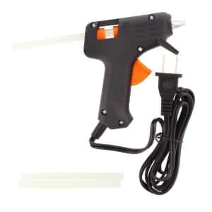 Glue Gun with Built-in Stand and 3 Glue Sticks