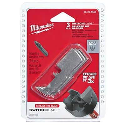 2-9/16 in. Switchblade Replacement Blade (3-Pack)