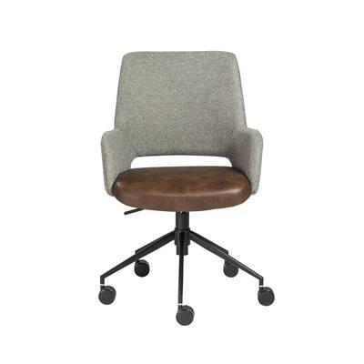 Desi Gray Tilt Office Chair