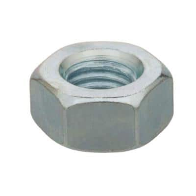 1/4 in.-20 Zinc Plated Jam Nut (8-Pack)