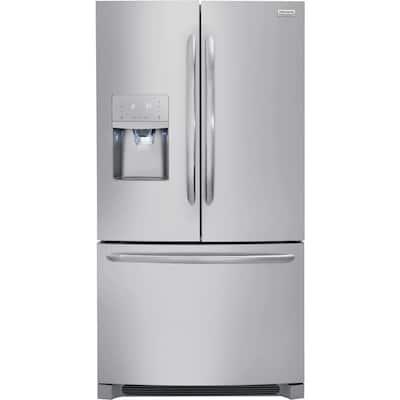 21.7 cu. ft. French Door Refrigerator in Stainless Steel, Counter Depth