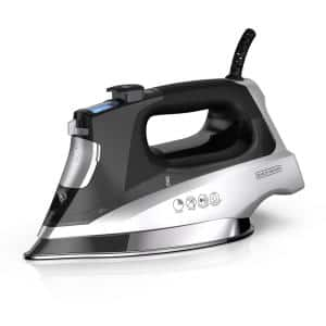Allure Pro Black Steam Iron with Comfort Grip
