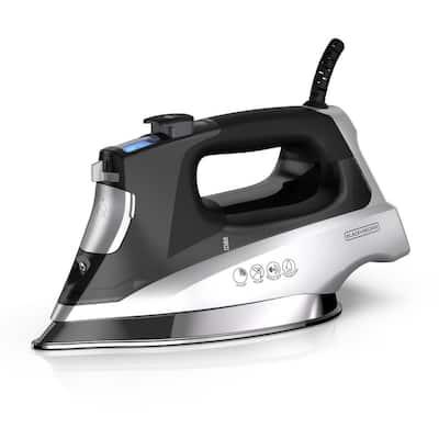 Allure Pro Black Steam Iron with Comfort Grip