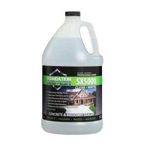 1 gal. Penetrating Solvent Based Silane Siloxane Concrete Sealer and Masonry Water Repellent