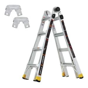 18 ft. Reach MPXA Multi-Position Ladder/Rail Bracket Kit (Combo-Pack)