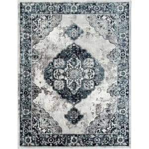 Finke Black 9 ft. x 12 ft. 3 in. Area Rug