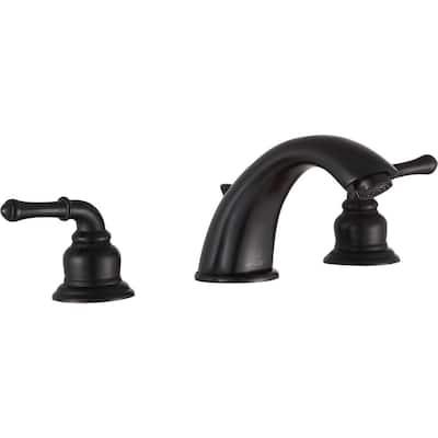 Prince 8 in. Widespread 2-Handle Bathroom Faucet in Oil Rubbed Bronze