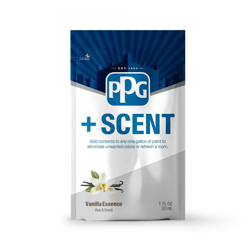 +Scent 1 oz. Vanilla Essence Odor Control Paint Additive (Treats 1 Gal.)