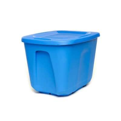 10 Gal. Storage Bin in Blue (5-Pack)