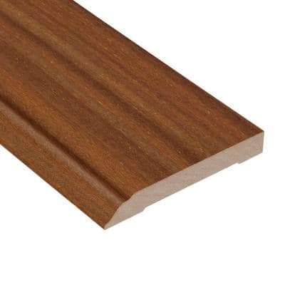 Brazilian Teak Avalon 1/2 in. Thick x 3-1/2 in. Wide x 94 in. Length Wall Base Molding