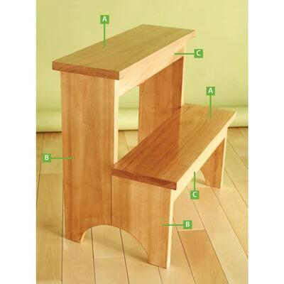 1 in. x 10 in. x 8 ft. S4S Radiata Pine Wood Board