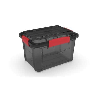 18L/19Qt Waterproof Tint Latch Tote IP-67