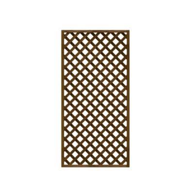 2 ft. x 4 ft. Wood Trellis Lattice Screen Privacy Fence (Set of 3-Pieces)