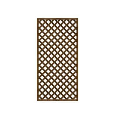 2 ft. x 6 ft. Wood Trellis Lattice Screen Privacy Fence (Set of 3-Pieces)