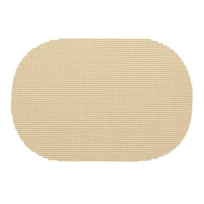 Fishnet Oval Placemat in Ivory (Set of 12)