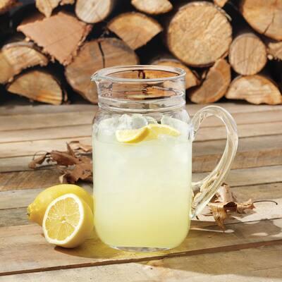 82 oz. Clear Drinking Jar Pitcher