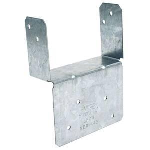 LPC ZMAX Galvanized Adjustable Post Cap for 4x Nominal Lumber