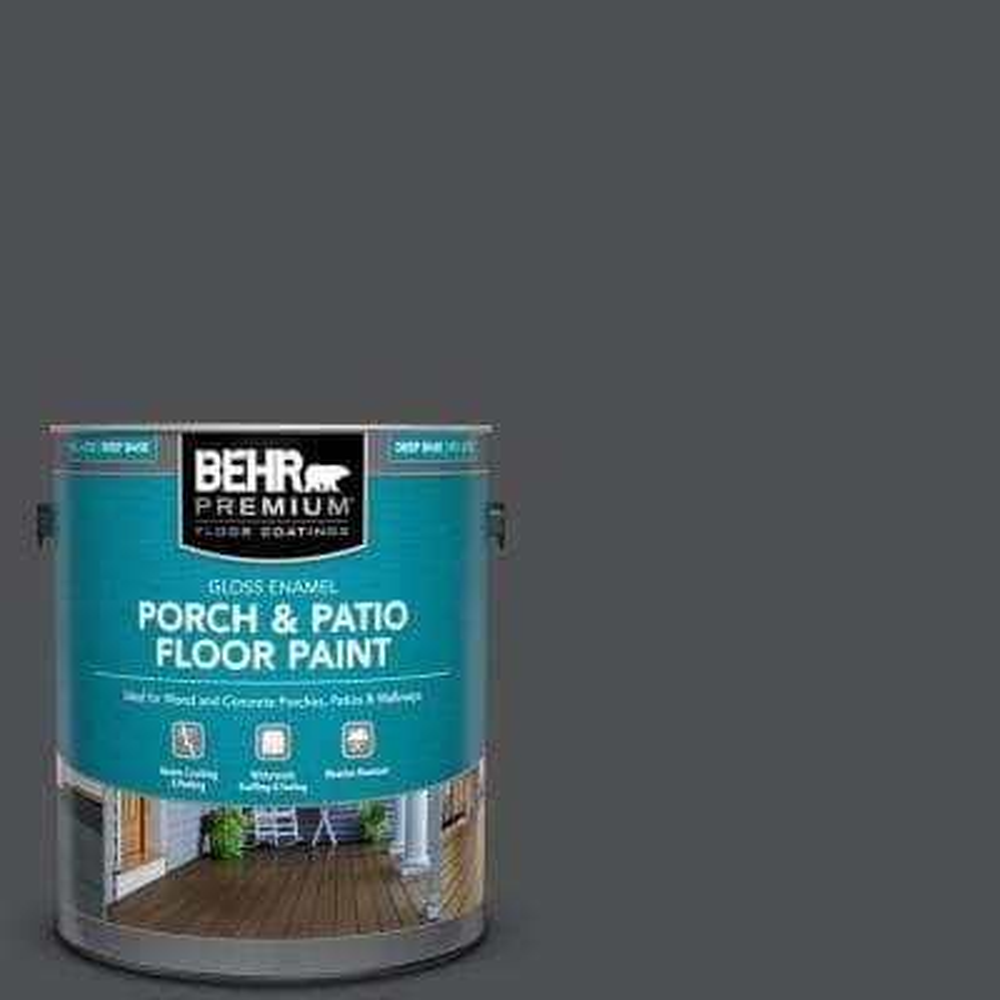 Satin Black Paint The Home Depot