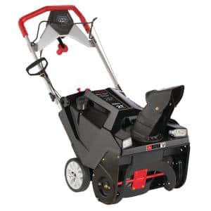 Squall XP 21 in. 208 CC Electric Start Single-Stage Gas Snow Thrower with Dual-LED Headlights Remote Chute Control