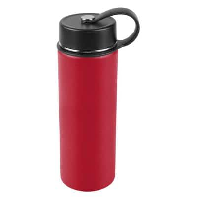 20 oz. Tomato Red Vacuum Insulated Stainless Steel Water Bottle (2-Pack)