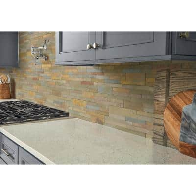 Salvador Vanilla Ledger Panel 6 in. x 24 in. Natural Limestone Wall Tile (8 sq. ft. / case)