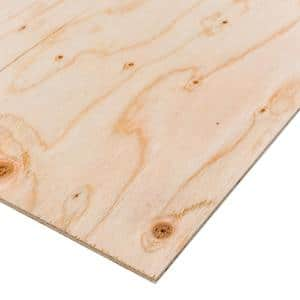 Sanded Plywood (Common: 1/4 in. x 2 ft. x 2 ft.; Actual: 0.224 in. x 23.75 in. x 23.75 in.)