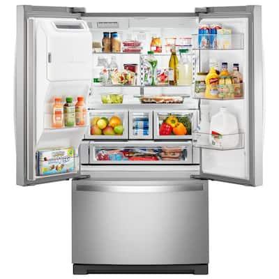 27 cu. ft. French Door Refrigerator in Fingerprint Resistant Stainless Steel