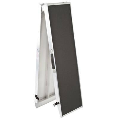8 ft. Lightweight Portable Folding Aluminum Pet Ramp