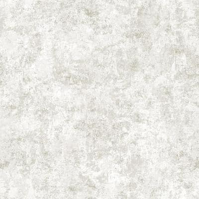 Distressed Gold Leaf Pearl Peel and Stick Wallpaper (Covers 56 sq. ft.)