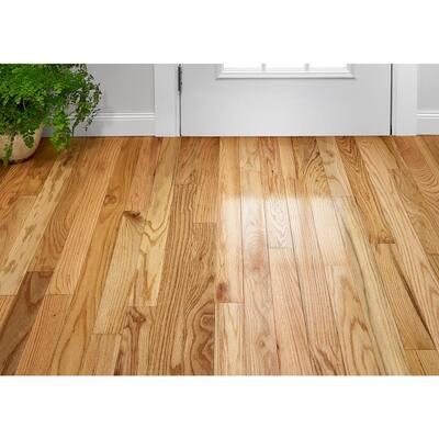 3 4 In Solid Hardwood Hardwood Flooring The Home Depot