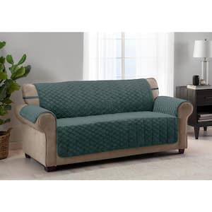 Fairmont Emerald 1-piece Diamond Plush XL Sofa Furniture Cover